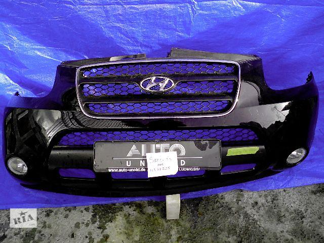 бу Бампер передний для легкового авто Hyundai Santa FE 2009 в Киеве