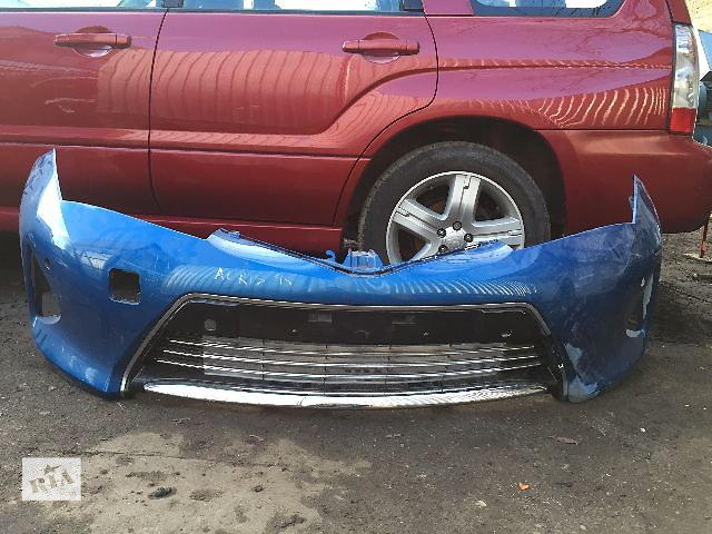 купить бу Бампер передний для легкового авто Toyota Auris 2015  53102-02040  53112-02230 в Одессе