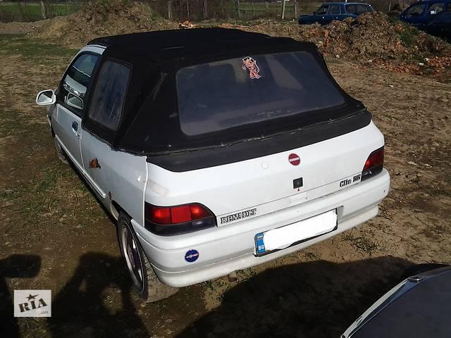 купить бу  Бампер задний для легкового авто Renault Clio в Ужгороде
