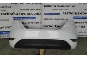 Бампер задний Ford Fiesta MK7 2008-2019г хачбек
