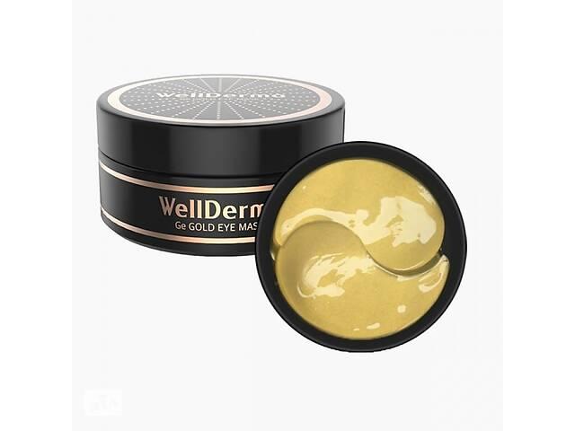 купить бу Гидрогелевые патчи для глаз WellDerma Ge Gold Eye Mask с золотом и ферментом магния, 60 шт в Киеве