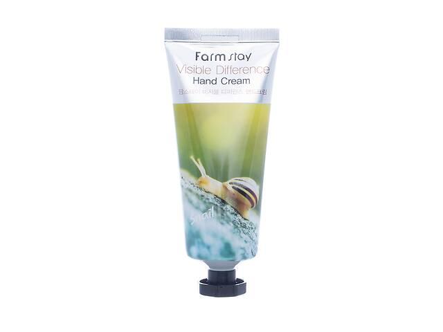 бу Крем для рук с муцином улитки FarmStay Visible Difference Hand Cream Snail, 100 мл в Киеве