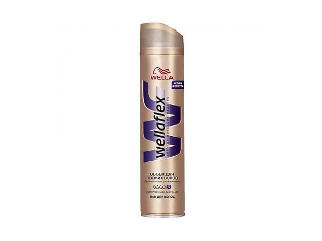 Лак для волос WellaFlex Объем для тонких волос Супер сильная фиксация 250 мл (4056800888641)