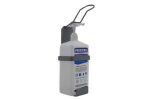 Ліктьовий дозатор c антисептиком Prosteril 1л SK EDW1Y WS сірий