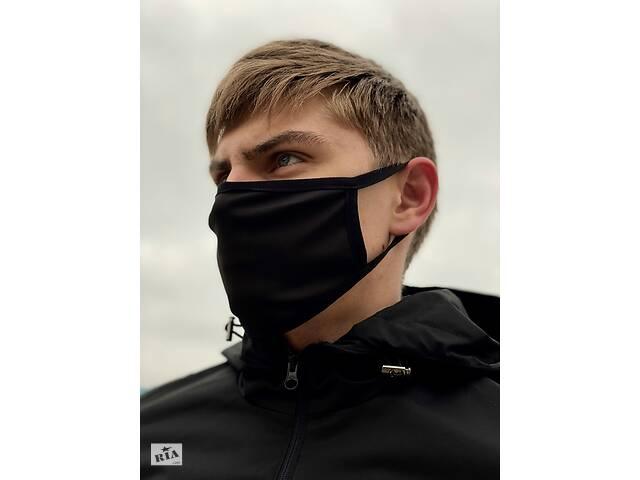 продам Маска мужская | женская защитная многоразовая  тканевая x black бу в Харькове