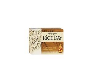 Мыло туалетное с экстрактом рисовых отрубей Lion Riceday Rice bran oil soap, 100 гр