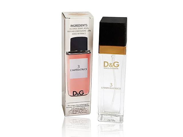 Женский Мини-парфюм Dolce & Gabbana 3 L`Imperatrice????