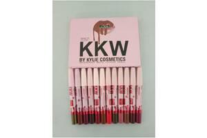 Набор матовых помад-карандашей KKW Kylie (Кайли) Доставка по Украине