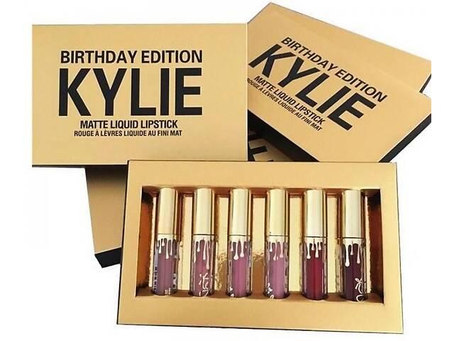 продам Набор Жидких Матовых помады Kylie Jenner Birthday Edition СДЕЛАНО В США бу в Шостке