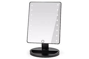 Настольное зеркало с подсветкой Kronos Large 16 LED Mirror (gr_009409)