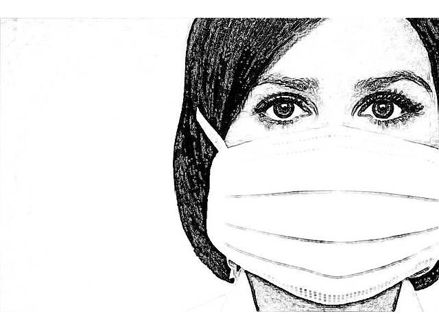 Низька ціна! Сертифіковані фабричні захисні маски ТУ У 32.5-38999420-002:2020- объявление о продаже  в Киеве
