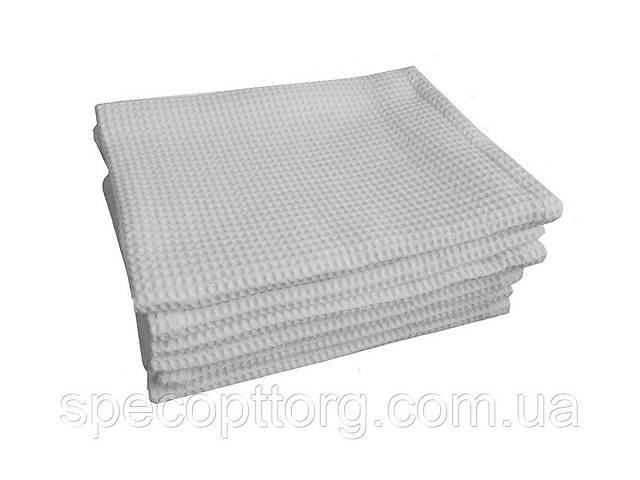 купить бу Полотенце вафельное белое (45смх75см) в Одессе
