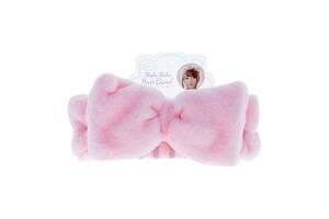 Повязка для головы OHEYA Mokomoko Powder Pink (r-05), 1 шт