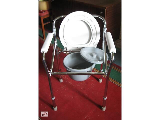 продам Складной стул-туалет Medicare с регулировкой высоты для инвалидов бу в Николаеве
