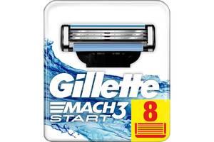Сменные кассеты Gillette MACH3 Start 8шт (7702018462575)
