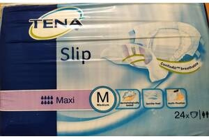 памперсы  TENA Slip Plus М--Slip Super М--Maxi М