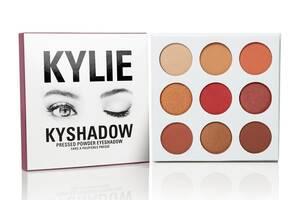 Тіні Kylie Cosmetics Kyshadow The Burgundy Palette (6 кольорів)