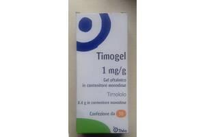 TIMOGEL (Тимогель) 1mg/g gel oftalmico