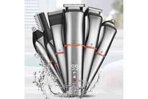Триммер универсальный Resuxi 12-в-1 LCD Grooming Kit IPX6 100% водонепроницаемый