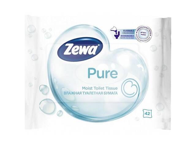 бу Туалетная бумага Zewa Pure 42 шт (7322540796582) в Киеве