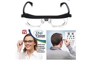 Збільшувальні окуляри з регулюванням лінз від-6 до +3