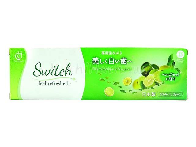 купить бу Зубная паста с экстрактом бергамота Zettoc Switch Toothpaste Bergamot, 100 мл в Киеве