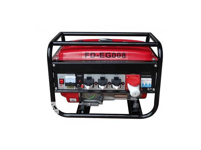 купить бу Бензиновый генератор электроэнергии ALLIGATOR FD-EG008 (3Ф, 2700Вт) в Днепре (Днепропетровск)