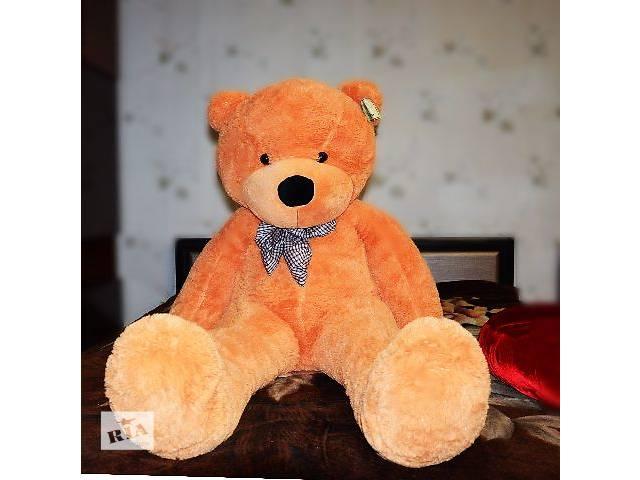 продам Бежевый плюшевый медведь Boyds 160 см (большой мишка 1,6 метра) бу в Кривом Роге (Днепропетровской обл.)