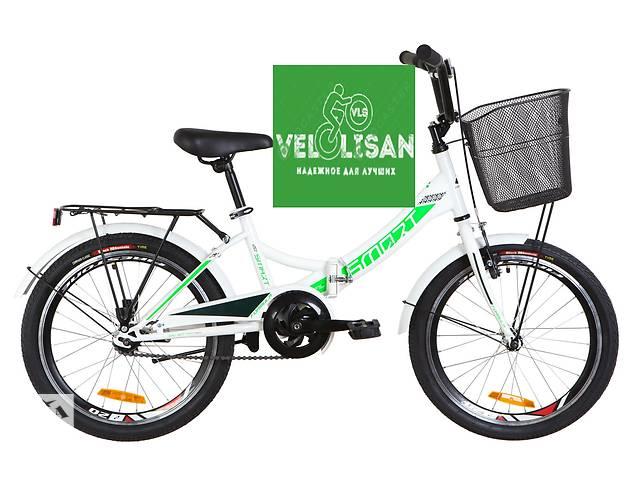 """купить бу 20"""" FORMULA SMART С КОРЗИНОЙ 2019. Детский универсальный велосипед, для роста 115-130 см. Рама сталь, раскладная. в Днепре (Днепропетровск)"""