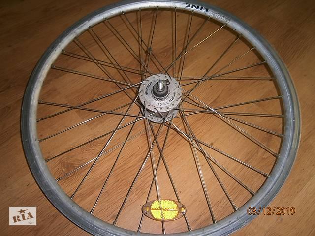 бу Shimano колесо - диск 26 динамо втулка. в Дрогобичі