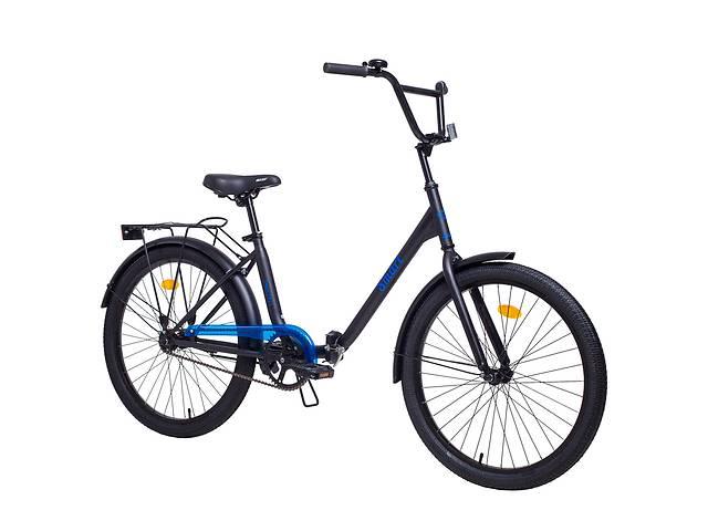 купить бу Складной велосипед Aist Smart 1.1 24 Черно-синий в Харкові