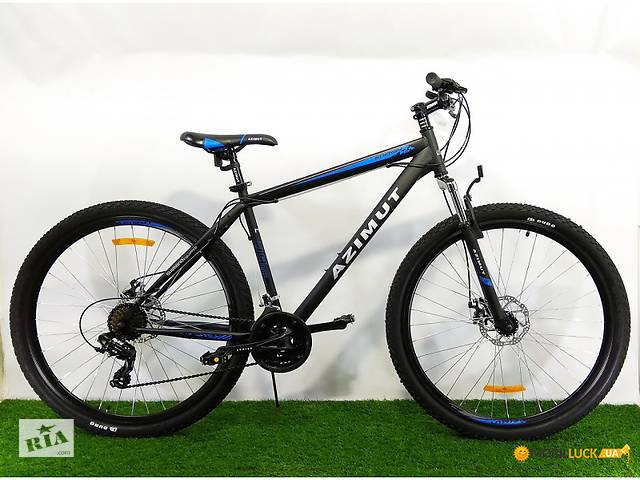 Велосипед Azimut Energy 26 D черно-синий!Распродажа!- объявление о продаже  в Киеве