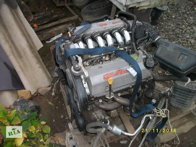 бу  Блок двигателя для легкового авто Alfa Romeo 156 2.5 бензин в Ужгороде