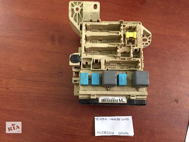 купить бу Блок предохранителей Toyota Camry  SV40  ML0R25M 120606  T20-GF10 N02KDX4 030106 в Одессе