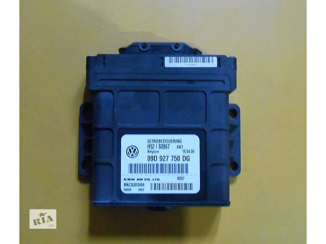 продам Блок управления 6 ступенчатой АКПП Audi Q7 Ауди Кю7 09D927750DG 09D 927 750DG 09D 927 750 DG бу в Ровно