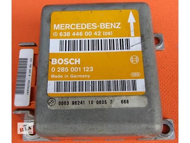 купить бу Блок управления airbag, аербег 9064461442 BOSCH 0285010349 Mercedes Vito (Viano) Мерседес Вито (Виано) 639 в Ровно