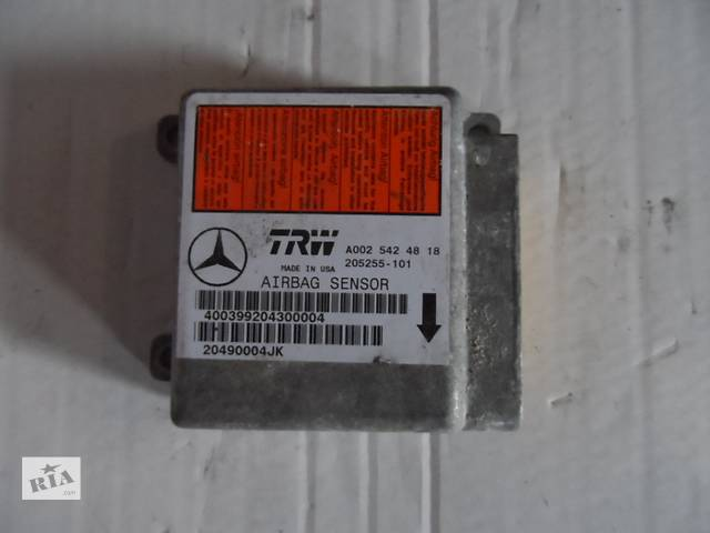 Блок управления airbag Мерседес МЛ 430 Mercedes ML 430 W163 1997-2001- объявление о продаже  в Ровно