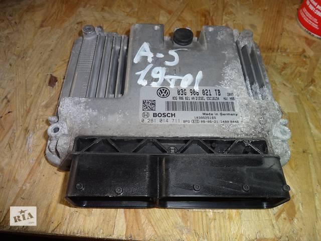 купить бу блок управления двигателем для Skoda Octavia A5 1.9tdi 03G906021TB, 0281014711 в Львове