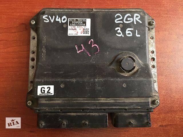 бу Блок управления двигателем  Toyota Camry SV40 3.5  2GR  89661-33A00  275100-4943 в Одессе