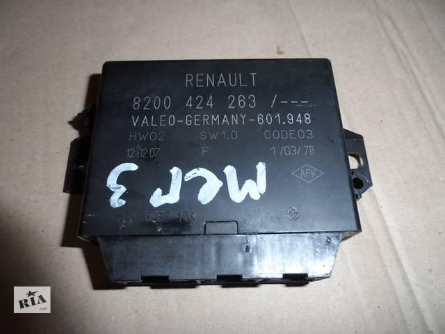 купить бу Блок управления парктроником 8200424263 Рено Меган 2 Renault Megane 2002-2009 в Ровно