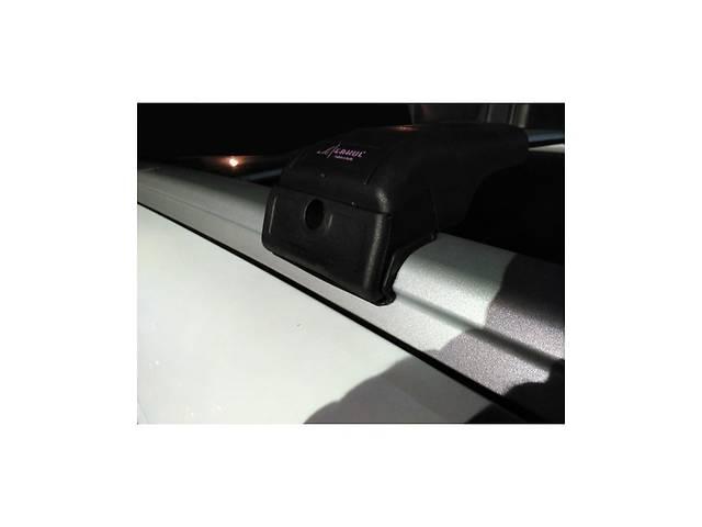 купить бу BMW X5 E-70 2007-2013 гг. Поперечный багажник на интегрированые рейлинги (с ключем) Черные в Черновцах