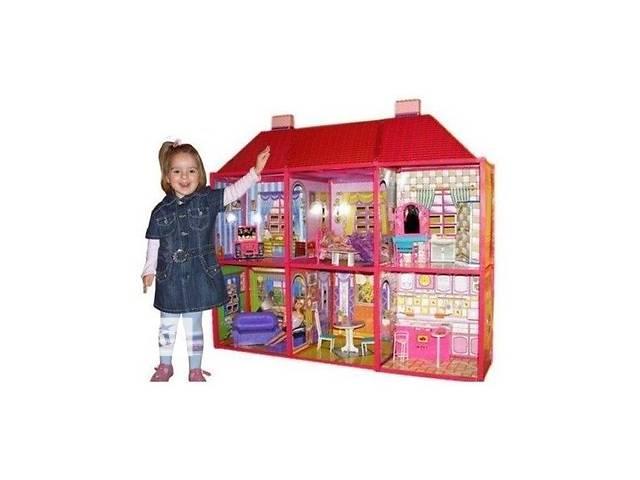 купить бу Большой кукольный дом + мебель My Lovely Villa в Киеве