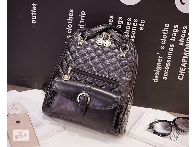 продам Большой стеганый городской рюкзак в стиле Candy Bear бу в Хмельницком