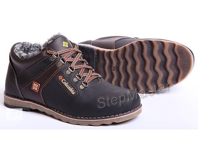 бу Ботинки кожаные зимние Columbia Wave в Вознесенске