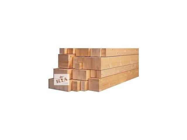 купить бу Брус деревянный сосновый сухой и свежий пил в Киеве