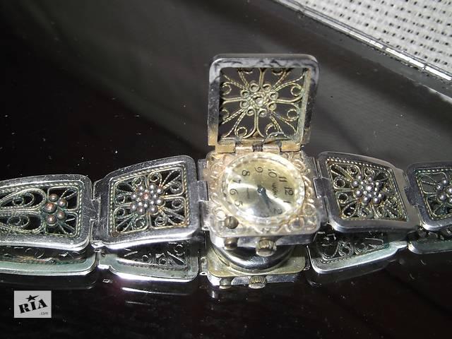 продам Расподажа-10%!Часы-браслет,,чайка,,рабочие ,филигрань.зернь. бу в Киеве