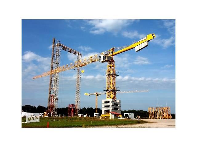 продам Разработка ППР на установку башенного крана. бу  в Украине