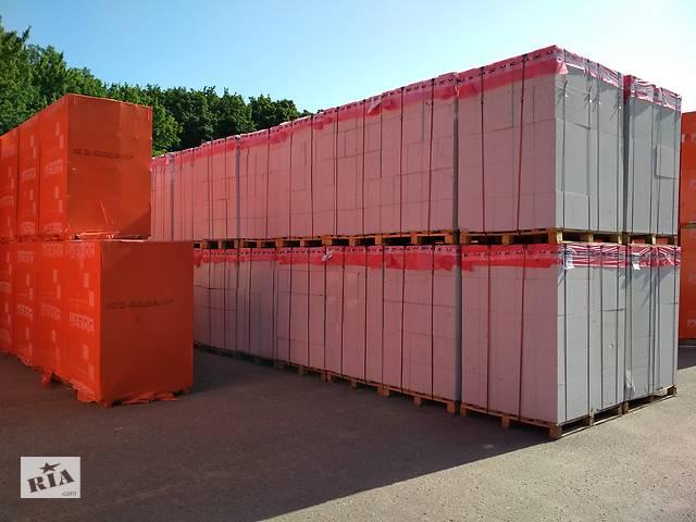 продам Газобетон Газоблок AEROC в ассортименте завода производителя в т.ч. 600/200/300 бу в Полтаве