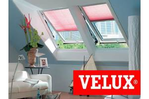 Нові Мансардні вікна Velux