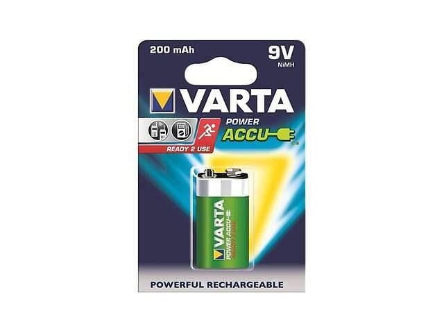 купить бу Аккумулятор Varta Крона Power Accu 6F22 9V 200m (56722101401) в Харькове